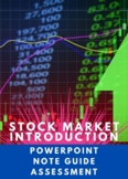STOCK MARKET INTRODUCTION VOCABULARY A-Z WITH 2 QUIZZES