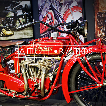 STOCK PHOTOS: 1924 Indian Chief Motor Cycle [Personal & Commercial Use]