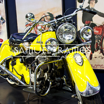 STOCK PHOTOS: 1947 Indian Chief Motor Cycle [Personal & Commercial Use]