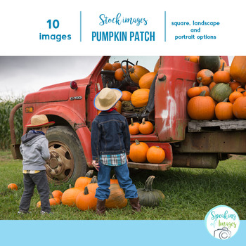STOCK PHOTOS: A Visit to the PUMPKIN PATCH