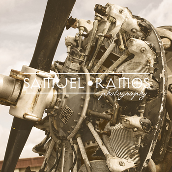 STOCK PHOTOS: Airplane Motor [Personal & Commercial Use]