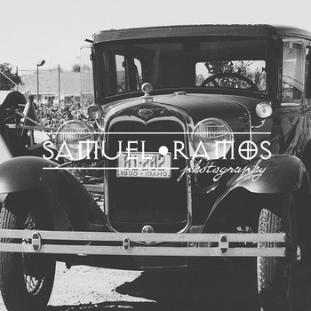 STOCK PHOTOS: Antique Car - Black & White [Personal & Commercial Use]