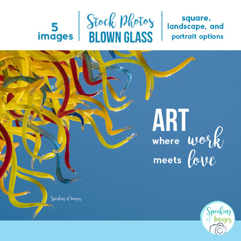 STOCK PHOTOS: BLOWN GLASS ART