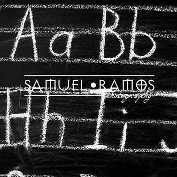 STOCK PHOTOS: Blackboard Alphabet [Personal & Commercial Use]