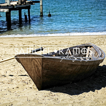 STOCK PHOTOS: Boat on the Beach [Personal & Commercial Use]