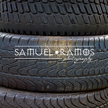 STOCK PHOTOS: Car Tire Texture  [Personal & Commercial Use]