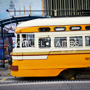 STOCK PHOTOS: City Trolley Train [Personal & Commercial Use]