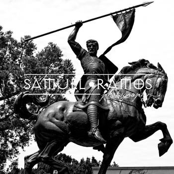 STOCK PHOTOS: El Cid Sculpture in Balboa Park  [Personal & Commercial Use]