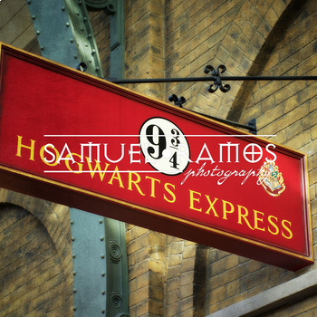 STOCK PHOTOS: Hogwarts Express Sign - Harry Potter  [Personal & Commercial Use]