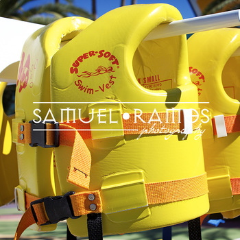 STOCK PHOTOS: Swimming Life Vest  [Personal & Commercial Use]