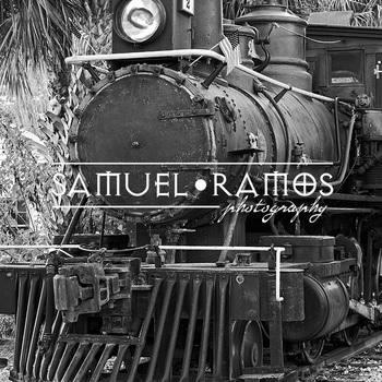 STOCK PHOTOS: Orange Blossom Cannonball Steam Train [Personal & Commercial Use]