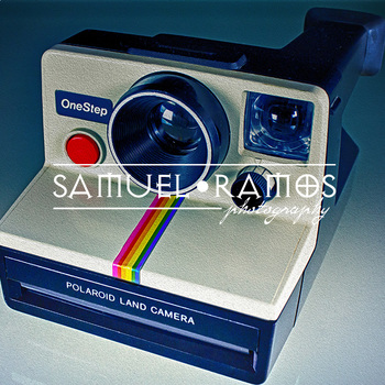 STOCK PHOTOS: Polaroid Land Camera  [Personal & Commercial Use]