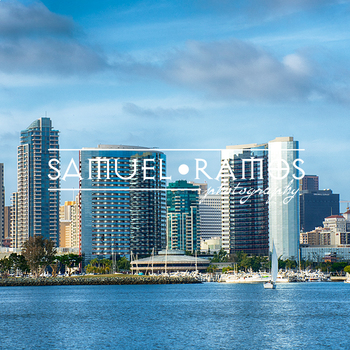 STOCK PHOTOS: San Diego City Skyline [Personal & Commercial Use]