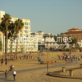 STOCK PHOTOS: Santa Monica State Beach, California [Personal & Commercial Use]