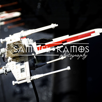 STOCK PHOTOS: Star Wars Lego Spaceship [Personal & Commercial Use]