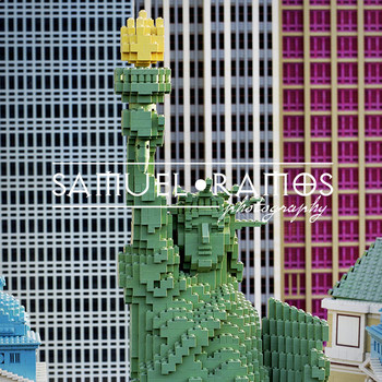 STOCK PHOTOS: Statue of Liberty - Lego  [Personal & Commercial Use]