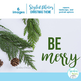 STOCK PHOTOS:Styled Christmas theme