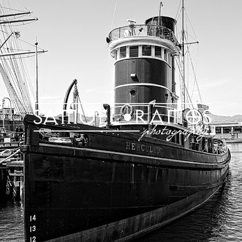 STOCK PHOTOS: The steam tug HERCULES [Personal & Commercial Use]