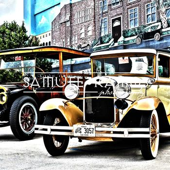 STOCK PHOTOS: Transportation: Antique Automobiles [Personal & Commercial Use]