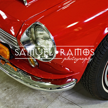 STOCK PHOTOS: Vintage Car Headlight  [Personal & Commercial Use]
