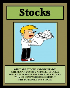 STOCKS - THE STOCK MARKET, Financial Literacy, Economics