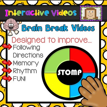 FLASH FREEBIE- STOMP Interactive Video Brain Break