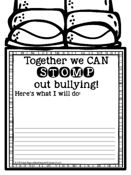STOMP out Bullying FREEBIE