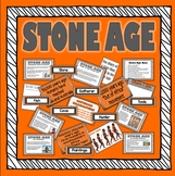 STONE AGE TEACHING RESOURCES HISTORY KEY STAGE 1-2 EARLY YEARS DISPLAY PACK