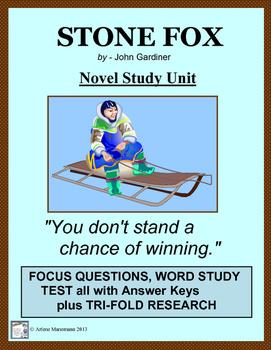 Stone Fox Summary & Study Guide - www.BookRags.com