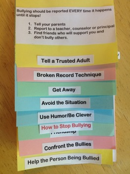 STOP BULLYING Interactive Booklets
