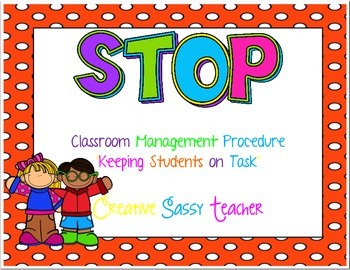 STOP Behavior Management