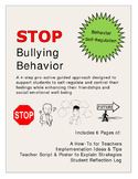 STOP Bullying Behavior: Self-Regulation Classroom Manageme