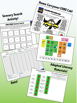 STOP: Complete Core Word Activity Set