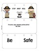 STOP DROP AND ROLE FIRE SAFETY FLIPBOOK