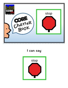 STOP: Interactive CORE City Chatter Book