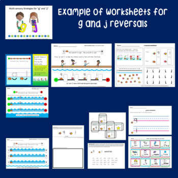 Letter reversals curriculum for handwriting