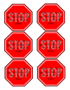 STOP!!! Make better choices.