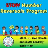 Handwriting:  STOP Number Reversals!  A multi-sensory, kinesthetic program!