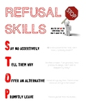 STOP Refusal Skills Handout