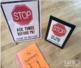 STOP Sign FREEBIE