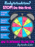STOP! Teach THIS lesson before introducing telling time to the hour!