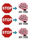 STOP and think Reminder