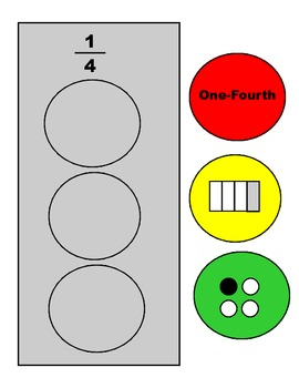 STOP for Fractions Learning Center, Games, and Worksheets