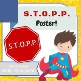 STOPP Classroom Poster (Emotion Regulation)