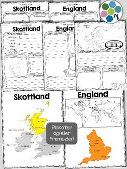 STORBRITANNIA OG IRLAND - Samlepakke, Land i Europa [Utforskingsopplegg] [BM&NN]