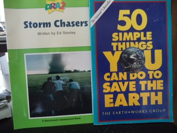 STORM CHASERS       SAVE THE EARTH       (set of 2)