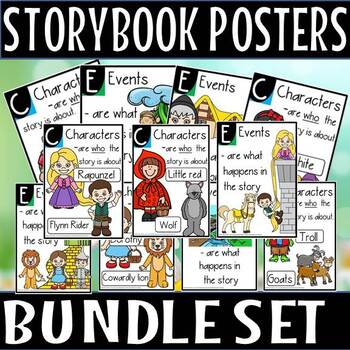 STORY BOOK POSTER SET(50% OFF FOR 48 HOURS)