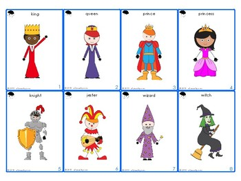 STORY BUILDERS 2 ~ Fantasy & Fairy Tales ~ Creative Story Prompt Cards