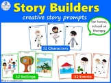 STORY BUILDERS ~ 96 Creative Story Prompt Cards
