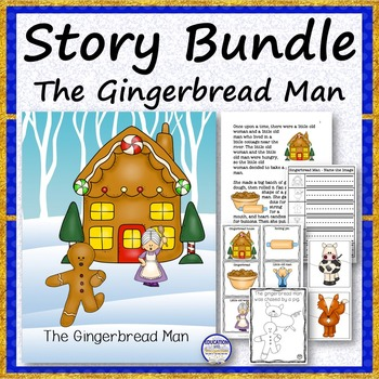 STORY SET The Gingerbread Man